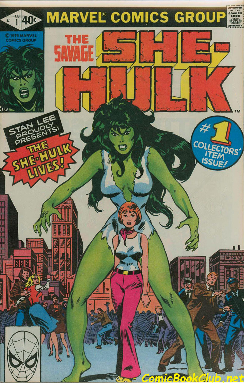 first She-Hulk Comic Book
